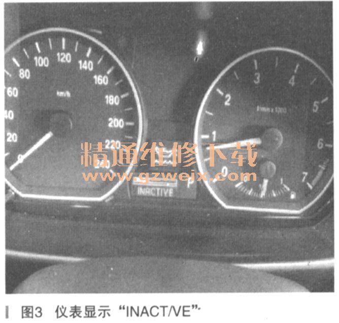 马1系120i机油保养后无法复位高清图片