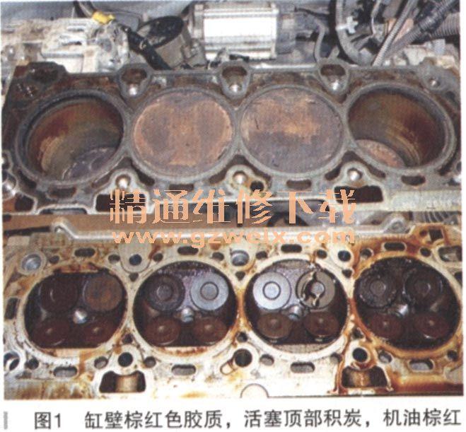 佛兰科鲁兹轿车发动机异响高清图片