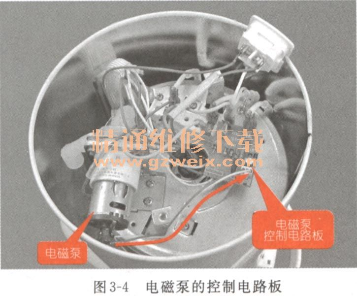 看图学习电热水壶故障维修图片