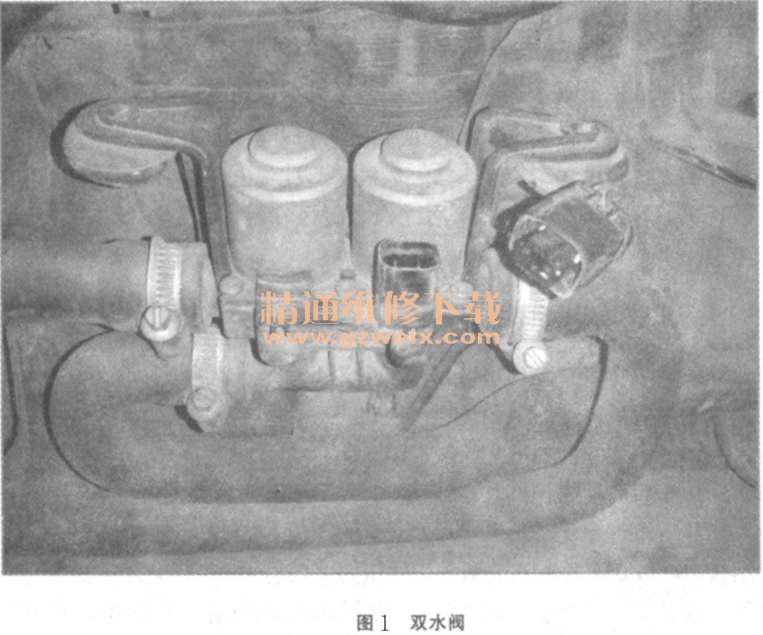宝马525i轿车空调系统故障 宝马汽车维修