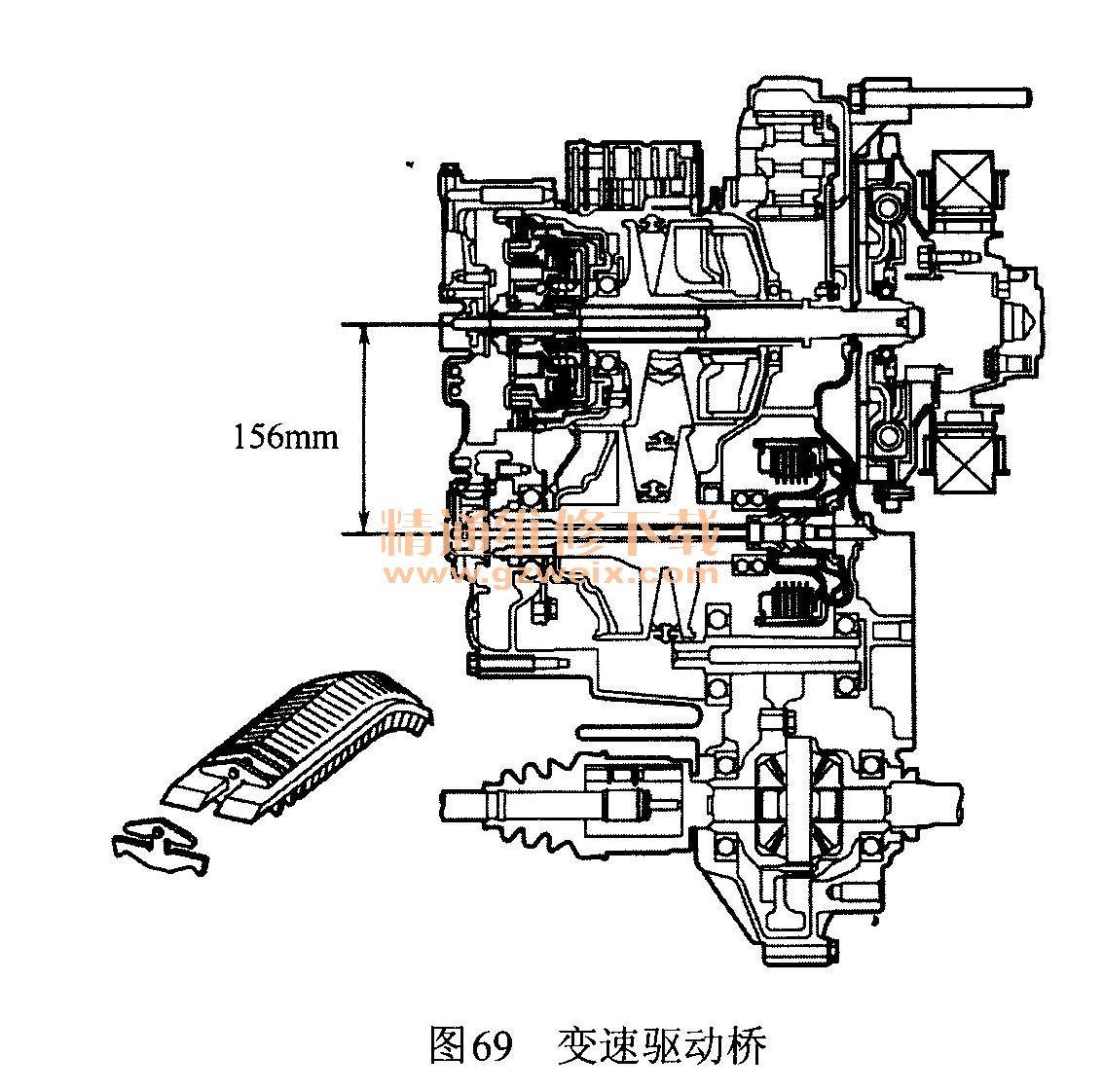 本田思域混合动力汽车的系统原理及故障维修高清图片