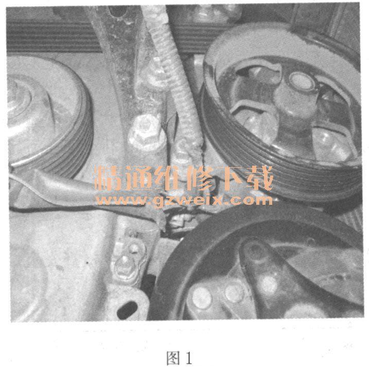 丰田威驰空调压缩机不工作