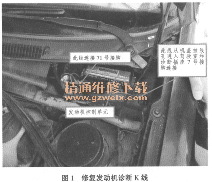 奇瑞旗云发动机无法启动故障维修高清图片
