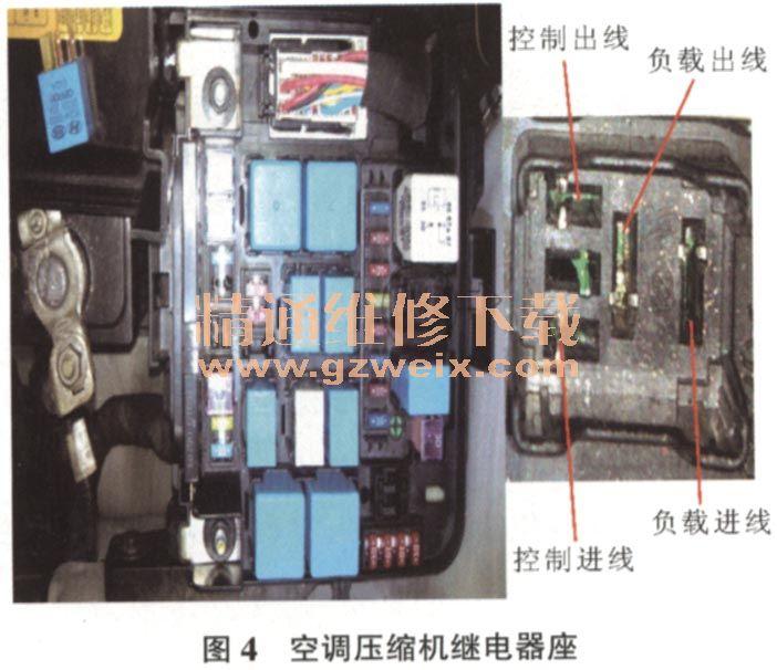 北京现代悦动轿车自动空调不制冷高清图片