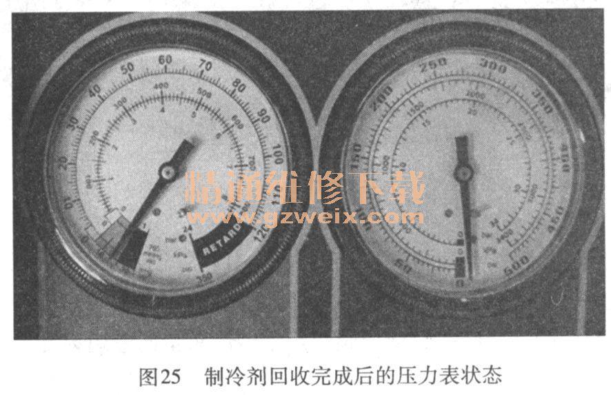 详解汽车空调故障诊断及检修原理高清图片