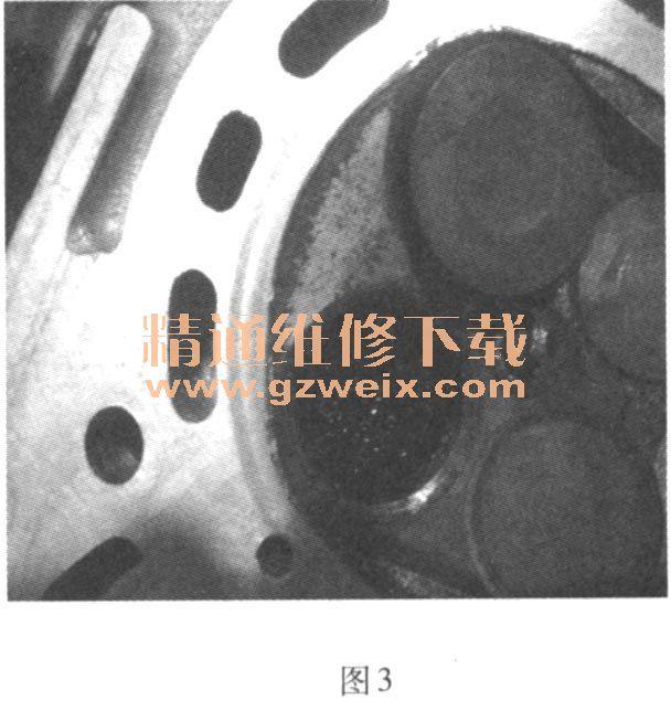 丰田威驰轿车发动机异响高清图片