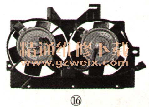 汽车空调制冷系统的工作原理与组成高清图片
