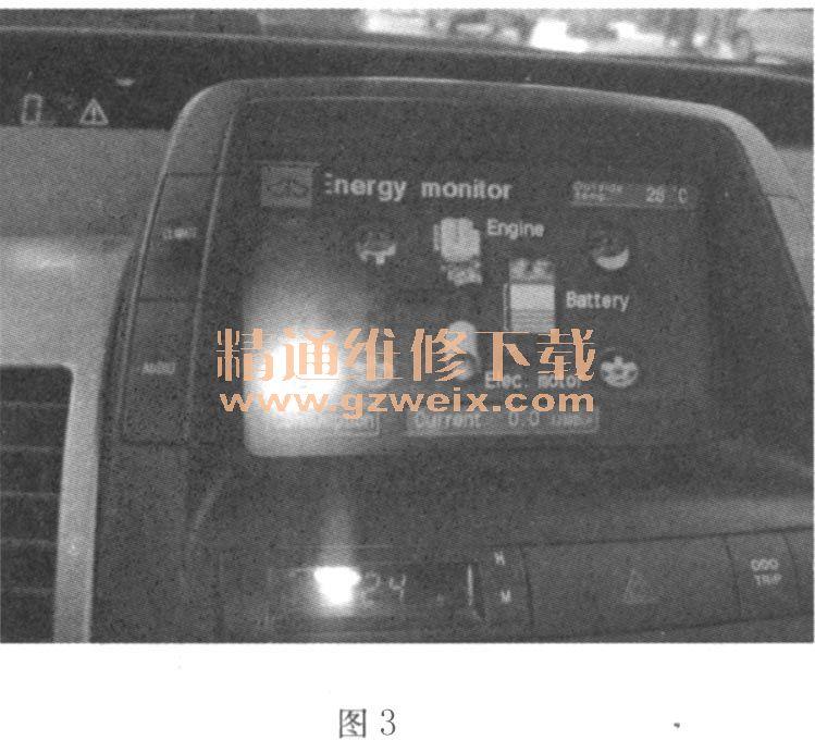 丰田普锐斯发动机故障灯点亮,无法进入ready状态