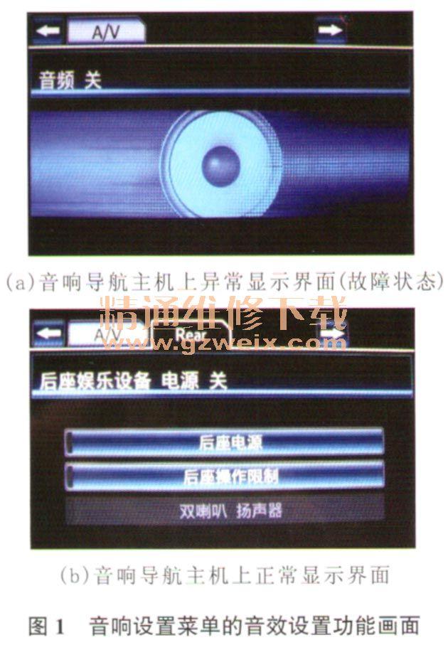 丰田埃尔法音响导航系统突然没有声音高清图片