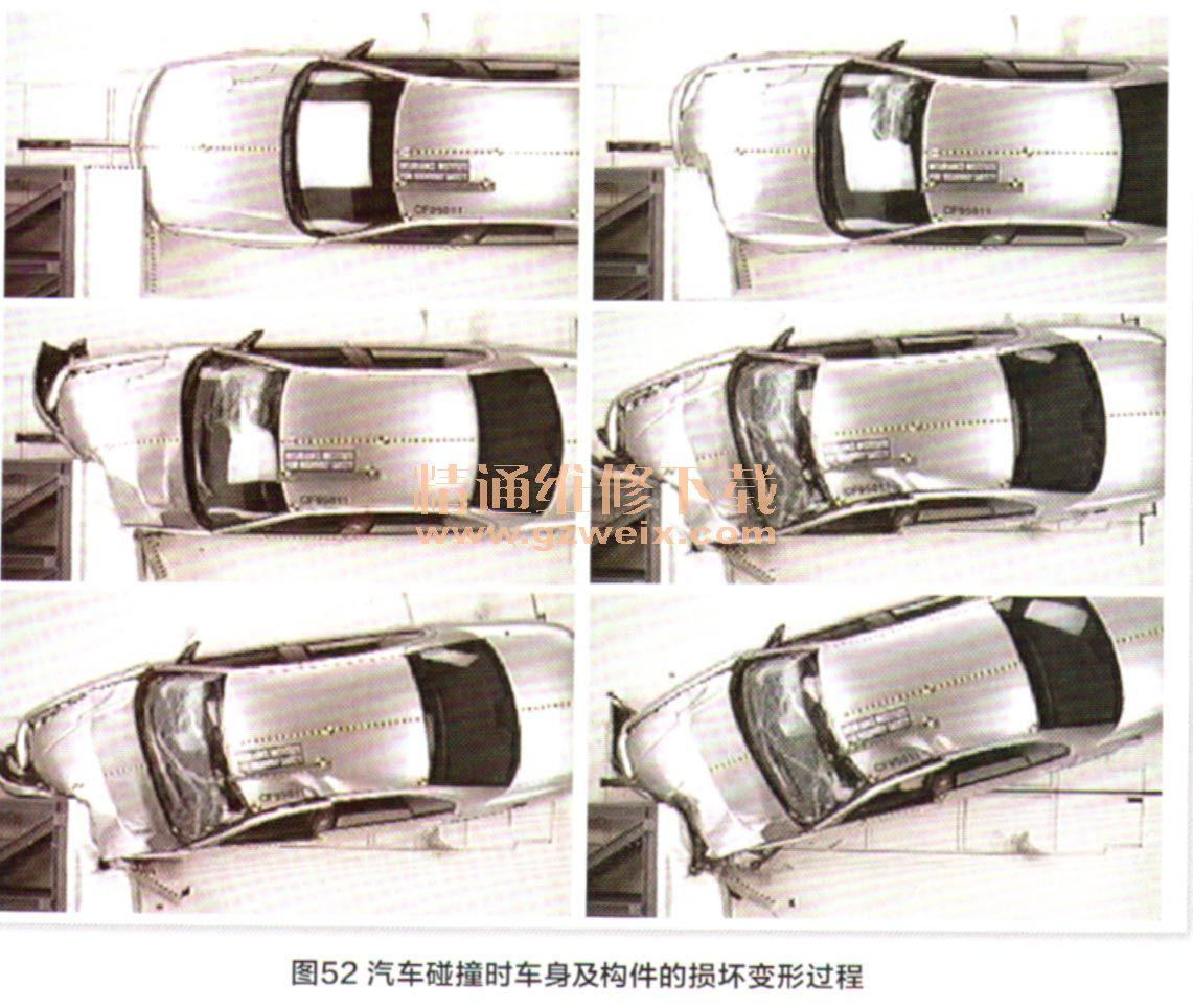 解析汽车车身结构和维修技术 六高清图片