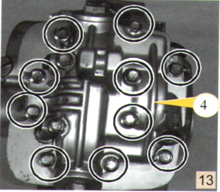 GS125发动机拆装实例图解 1