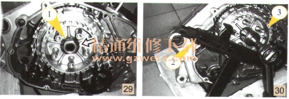 gs125发动机拆装实例图解(2)