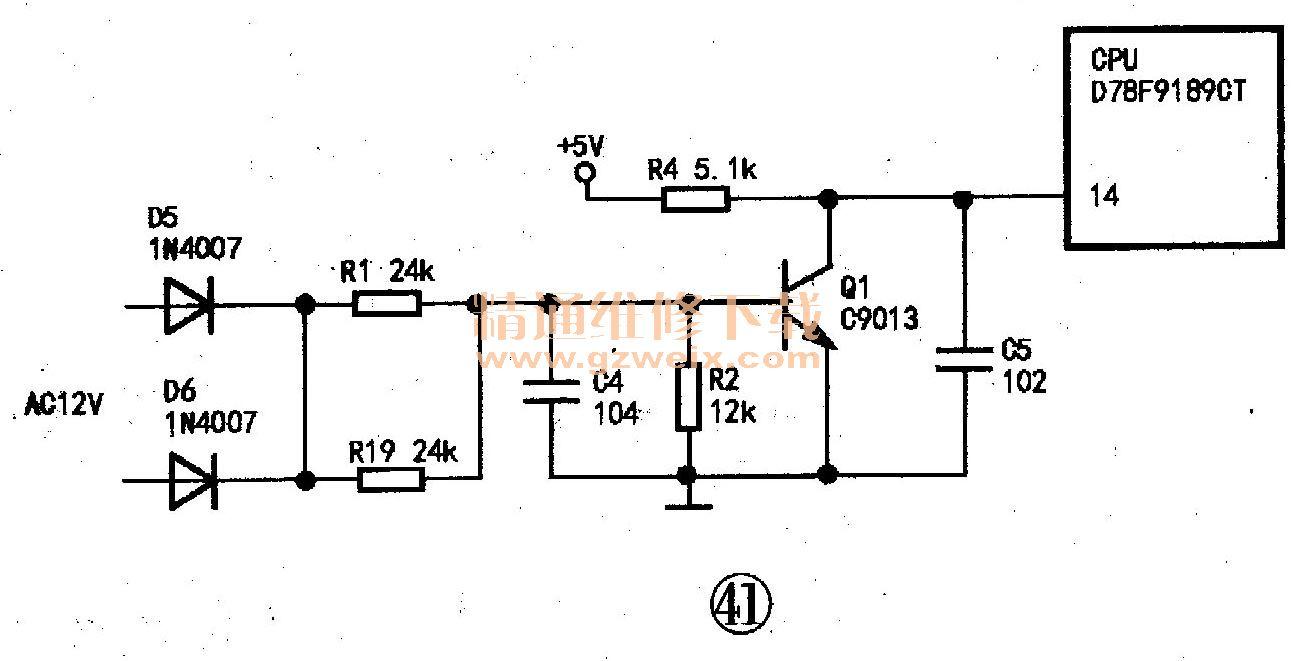 美的变频空调室外控制电路图解