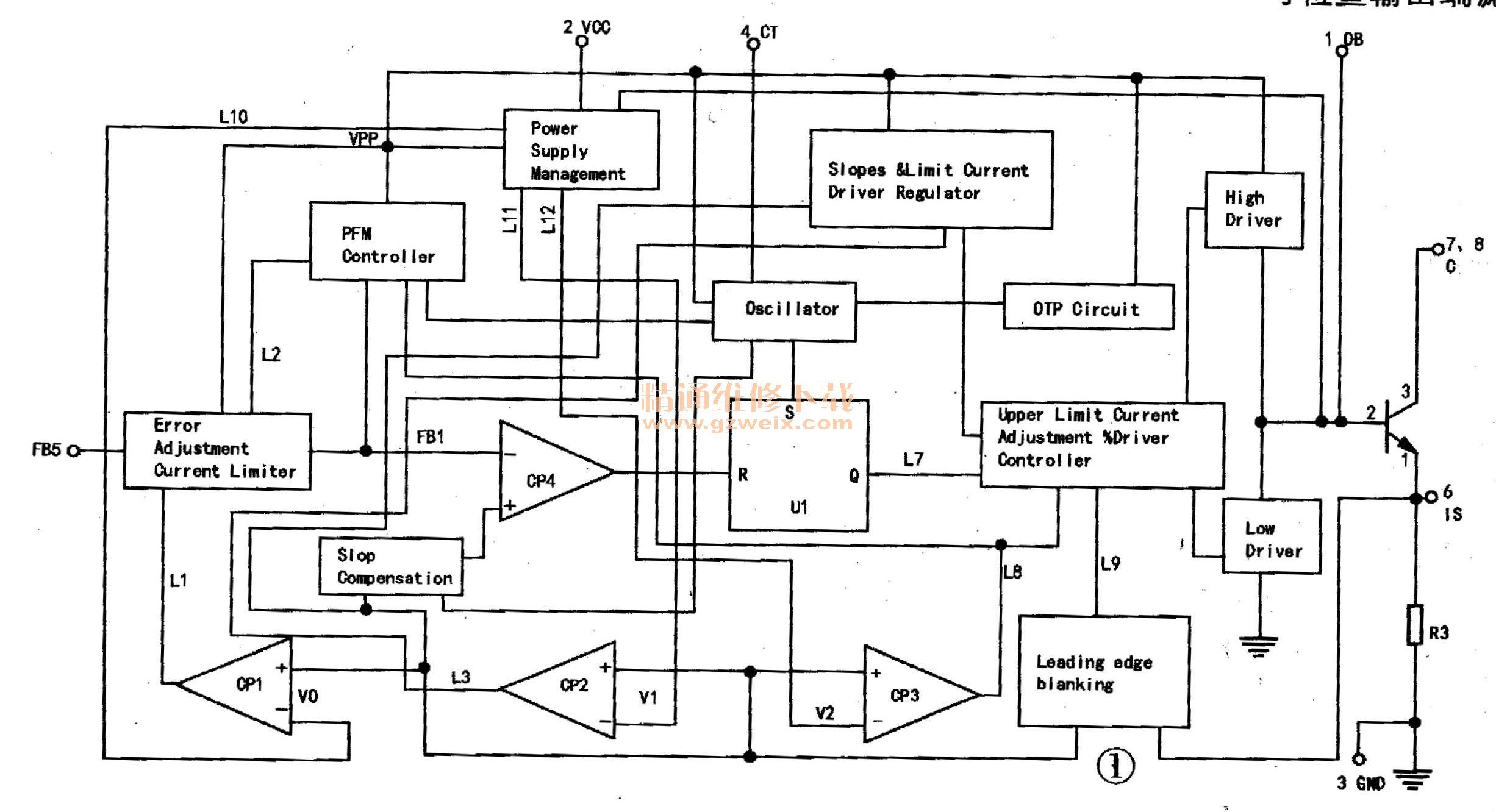先科fl-760 evd型电源适配器原理与检修