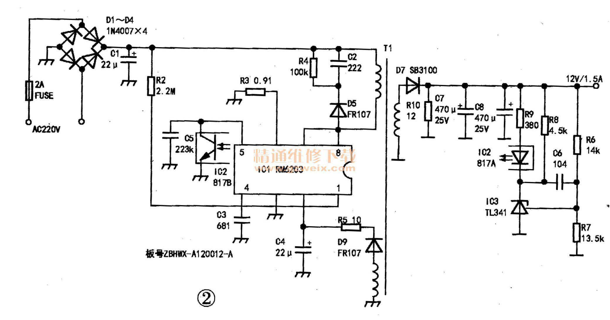 福利 12V开关电源适配器常见故障检修案例汇总-电源网