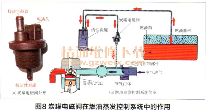 C5各电控系统电路图 发动机电喷系统电路图片