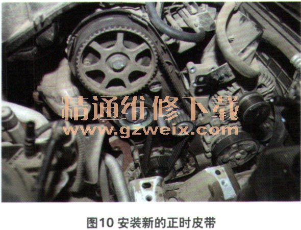 发动机冷却液泵的更换方法