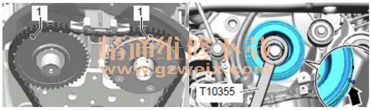 G40 与 N205 占空比的对应状态说明 N205 的 pwm 信号正常,凸轮轴的信号杂波对应的 N205 的 PWM 信号无变化,说明是机械部件导致 G40 产生杂波。由于凸轮轴调整系统需要由机油驱动,所以检查机油及压力状态条件,为正常。  7. 根据以上分析检查,拆检凸轮轴调整的机械阀,发现机械阀中出现机械严重卡滞。将机械阀更换后启动车辆并行使测试,一切正常。  原因分析:故障车由于凸轮轴调节机械阀卡滞导致配气相位错乱,引起气门关闭时刻错误引起该故障。 其原理为发动机为了在低转速时进气门应提前关闭,