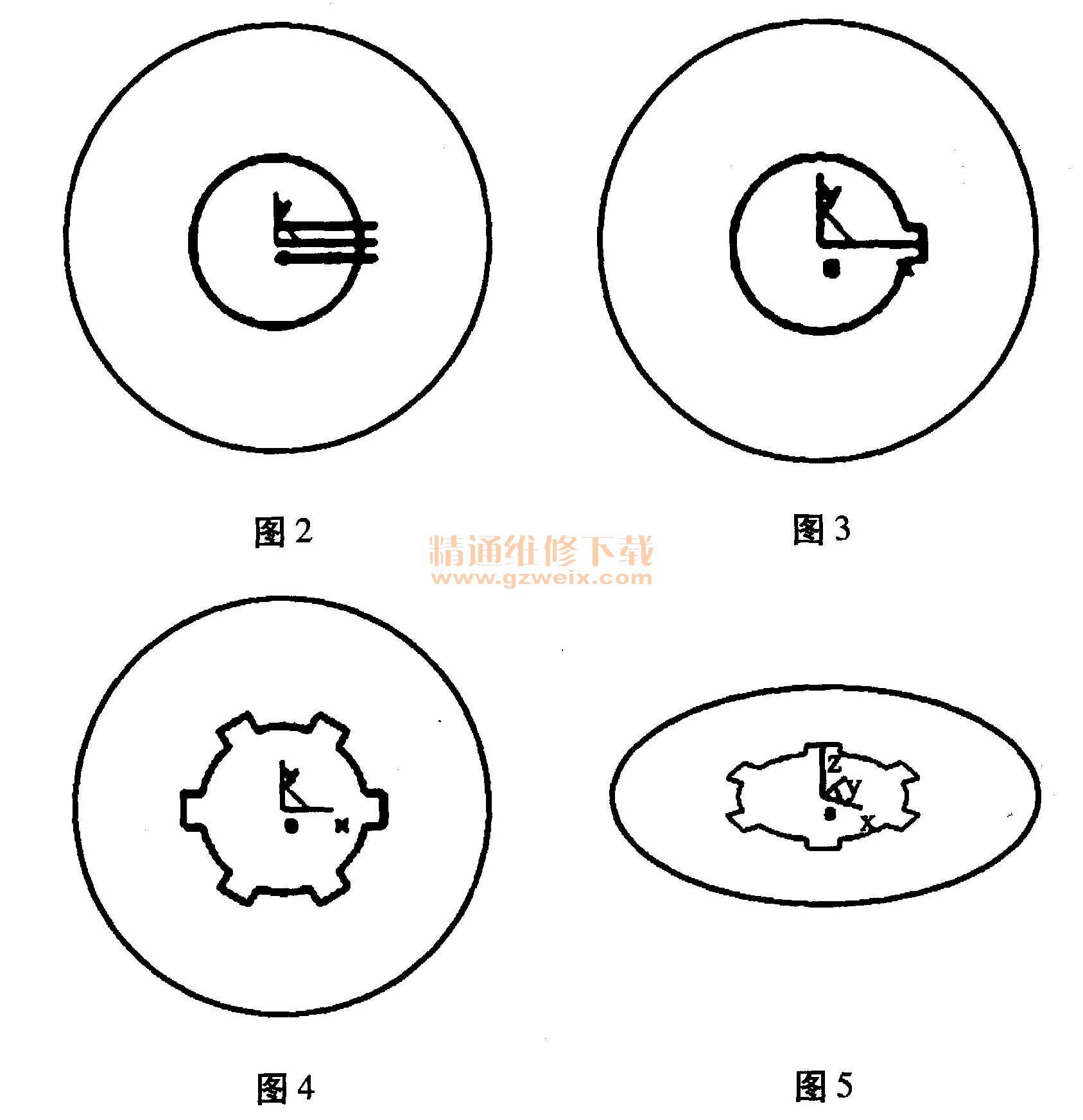 基于CAXA应用工程师手轮绘制维修-精通制造以圆形为基础绘制logo图片
