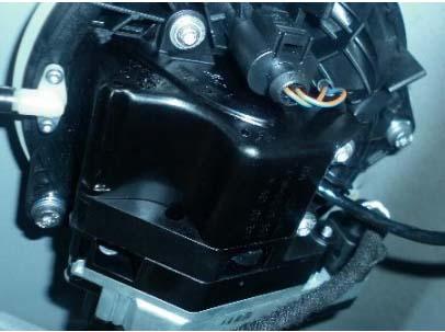 大众迈腾倒车影像摄像头电机外翻电机无动作高清图片