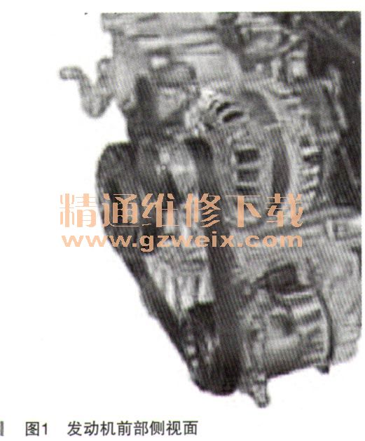 大众新朗逸轿车发动机右前异响高清图片