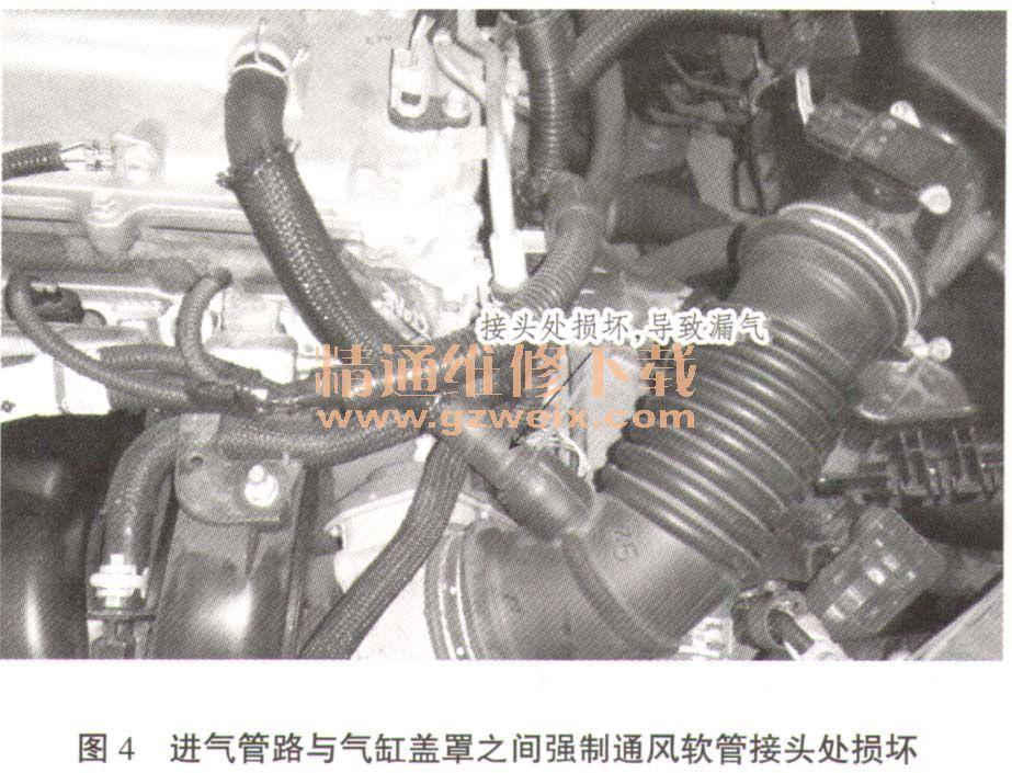 丰田卡罗拉发动机双vvt-i系统检修