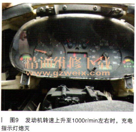 江淮瑞风商务车发电机不发电