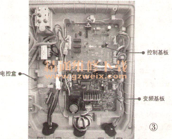 松下nr-c23vg1直流变频冰箱工作原理与检修(上)