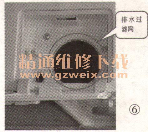 866系列滚筒洗衣机电路图与故障代码分析