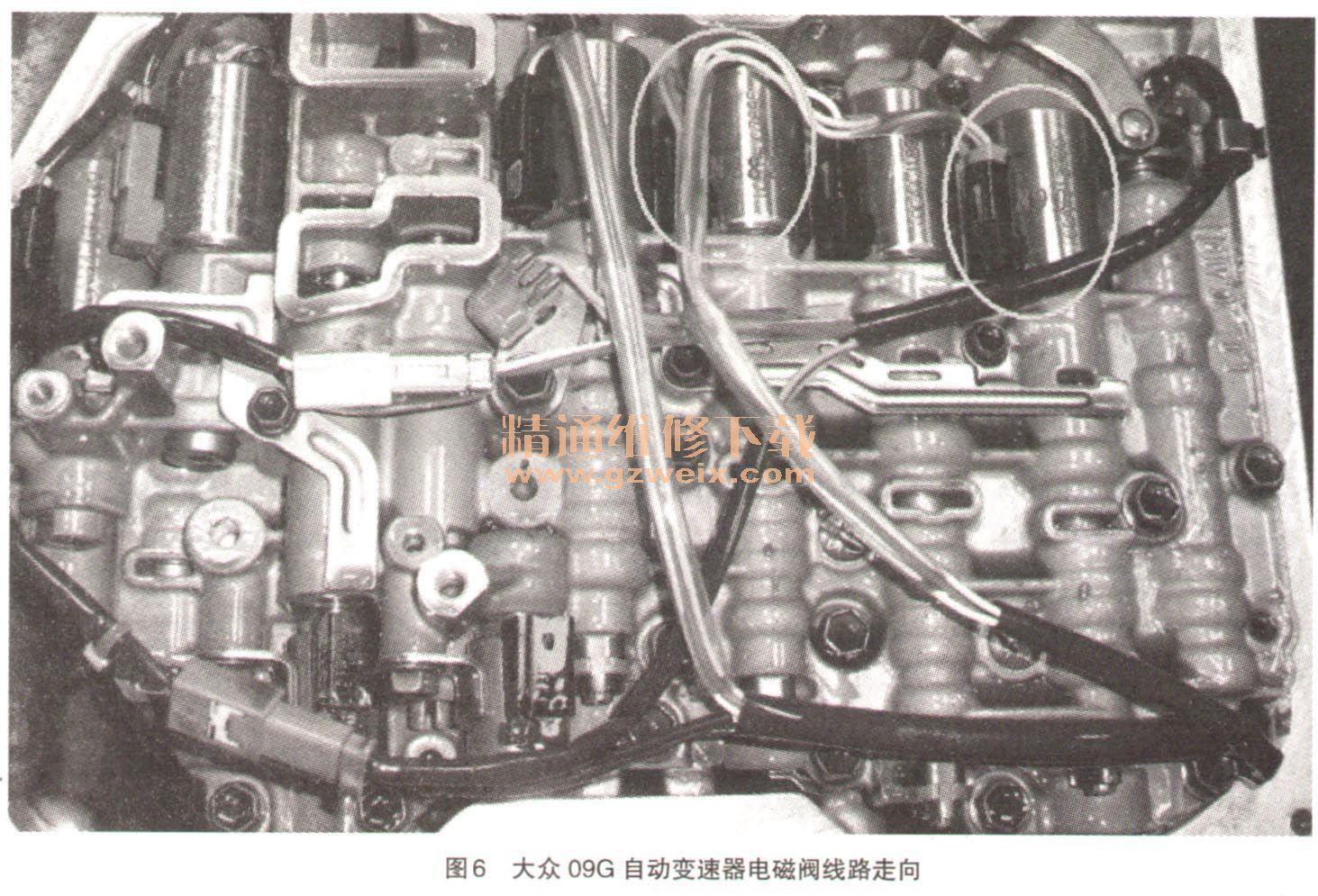 故障排除:重新恢复电磁阀正确插接位置,故障得以排除.图片