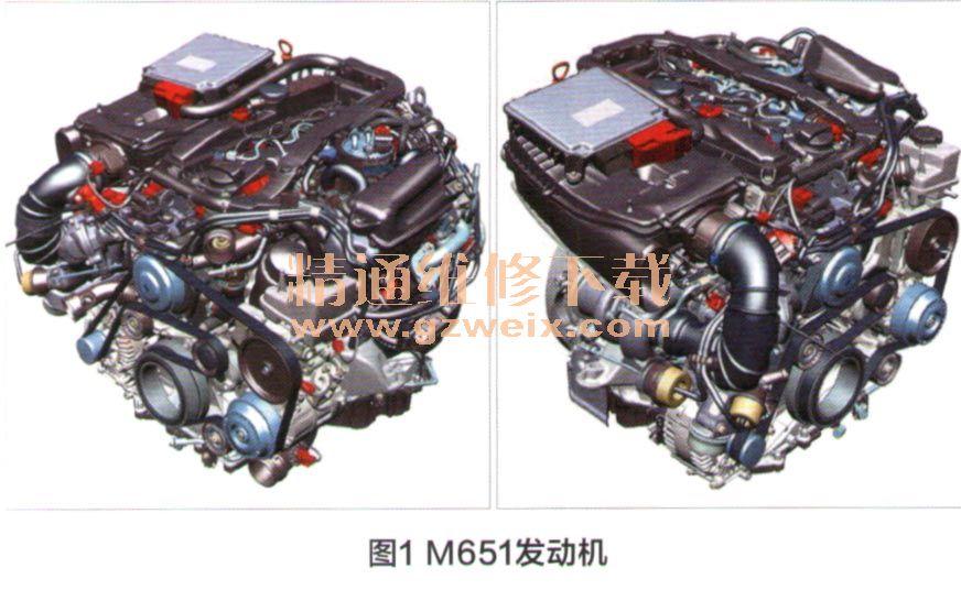 共轨柴油喷射系统_奔驰4缸发动机M651简介(上) - 精通维修下载