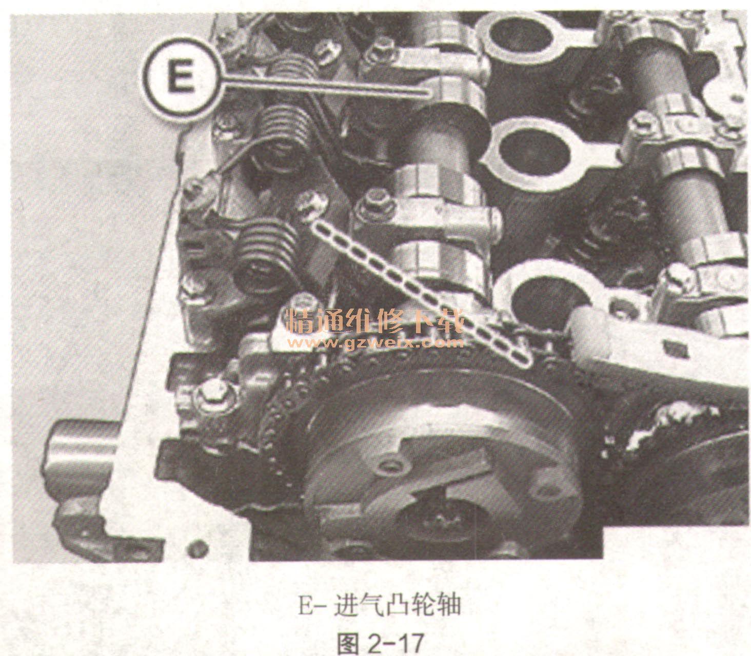 2011~2018年宝马118i(f20)(1.6l n13b16m0)发动机正时校对方法