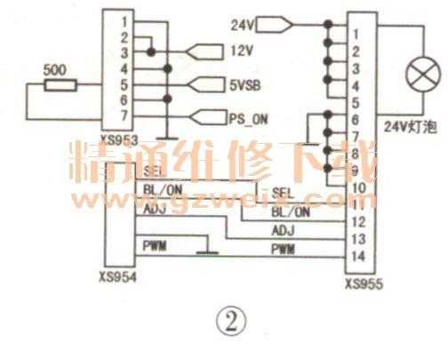 康佳led42us92dc型液晶彩电不开机故障检修
