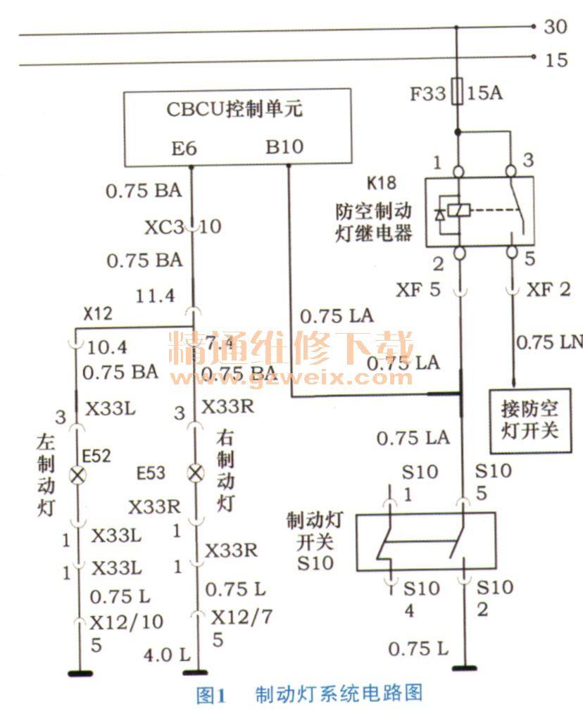 """豪沃zz1167型载重车仪表盘显示""""主车制动灯开路"""""""