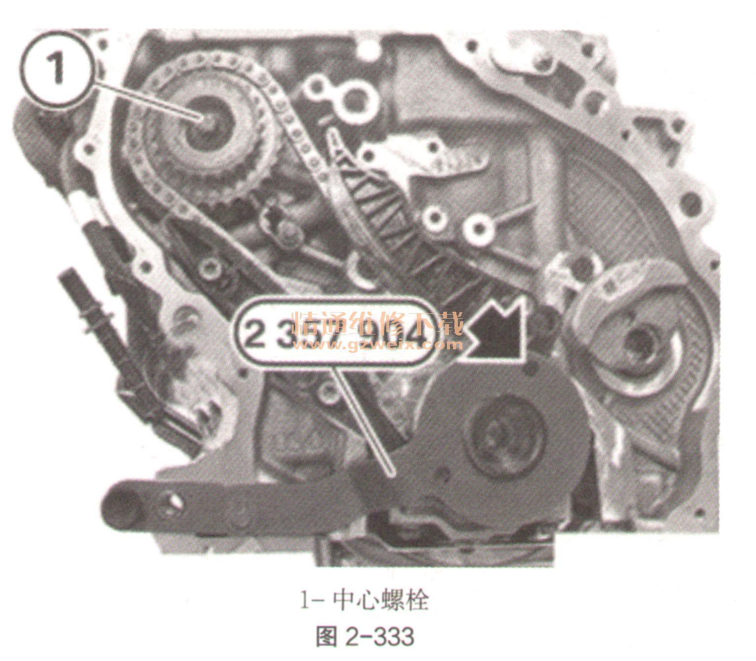 2015年后宝马218i(f45)(1.5t b38)发动机正时校对方法