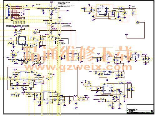 创维8a12机芯液晶彩色电视维修图纸